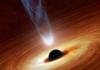 artists depiction of a black hole